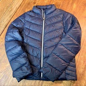 Primark Navy Blue Puffer Jacket for Girls Size 12